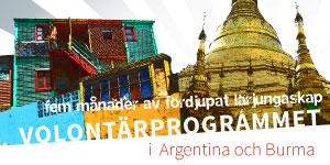 Volontärprogrammet – ansök senast 1 april!