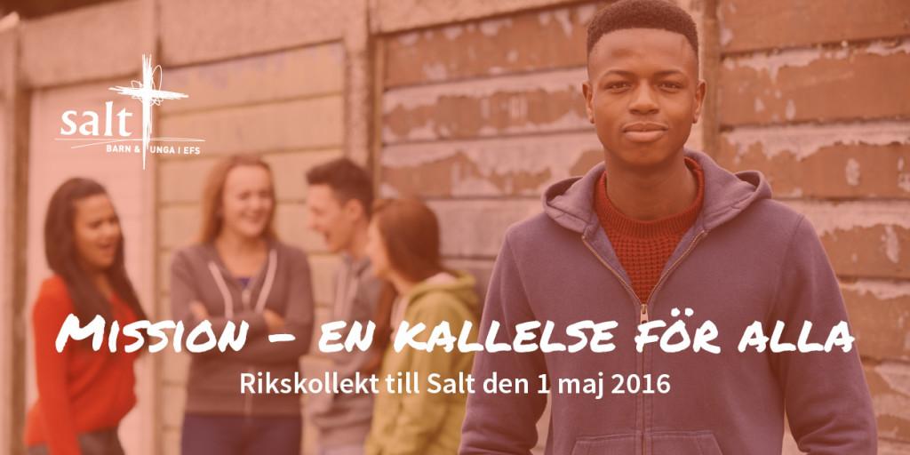 Rikskollekt Salt maj 2016