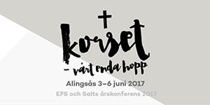 Kom på EFS och Salts årskonferens i Alingsås!
