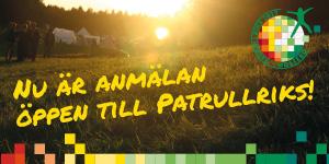 Anmälan öppen till årets största händelse: Patrullriks!